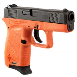"Diamondback Micro-Compact 9mm 6+1 3"" Pistol in Black Slide/Orange Frame - DB9HO"