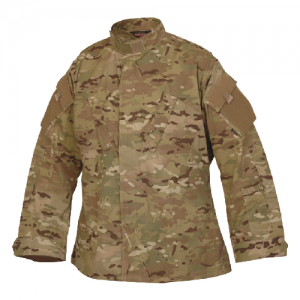 Tru Spec Tactical Response Uniform Shirt Men's Full Zip Jacket in MultiCam - Large