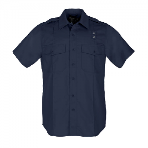 5.11 Tactical PDU Class A Men's Uniform Shirt in Midnight Navy - Medium