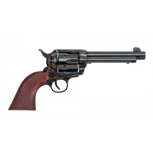 "Traditions 1873 .45 Colt 6-Shot 5.5"" Revolver in Blued W/Gold Highlights (Frontier) - SAT73003"