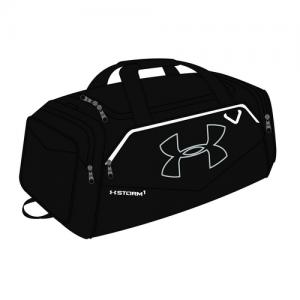 Under Armour Undeniable Duffle II Waterproof Duffel Bag in Black - 1263967001OSFA