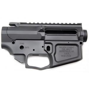 Wilson Combat Billet Upper/lower Receiver, Semi-automatic, 223 Rem/556nato, Black Finish, Picatinny Top Rail, Shell Deflector Tr-lowupp-bil