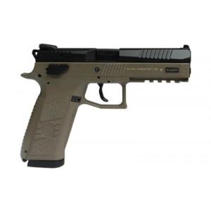 """CZ P-09 9mm 19+1 4.5"""" Pistol in Flat Dark Earth (Duty) - 91636"""