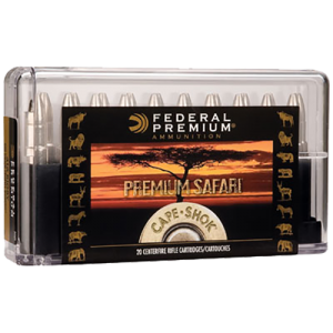 Federal Cartridge 9.3X62 Mauser Barnes Banded Solid, 286 Grain (20 Rounds) - P9362D