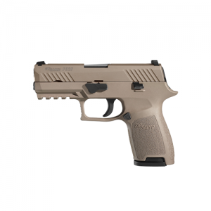 "Sig Sauer P320 Carry 9mm 17+1 3.9"" Pistol in Flat Dark Earth (FDE) (Internal Safety System) - 320CA9FDE"