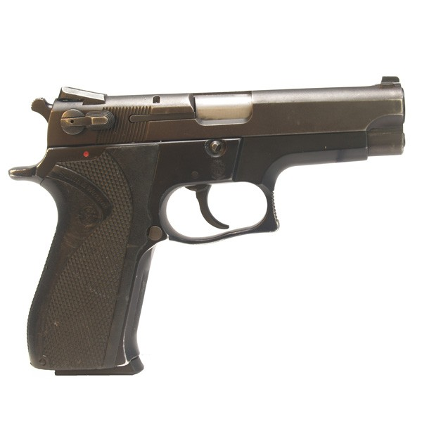 """Pre-Owned Smith & Wesson Model 5904 9mm Luger (Parabellum) Semi-Automatic Pistol 4"""" Barrel 15+1 Capacity Single/Double Action 1-15 Round Factory Magazine"""