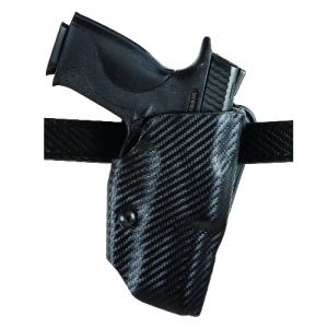 "Safariland 6377 ALS Right-Hand Belt Holster for Glock 20 in STX Plain Black (4.6"") - 6377-383-411"
