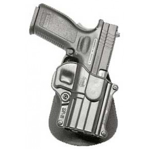 Fobus USA Roto Roto Paddle Right-Hand Paddle Holster for Springfield XD in Black - SP11BRP