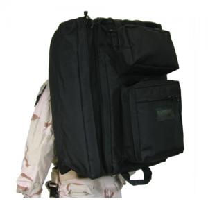 Blackhawk Divers Travel Bag Waterproof Diver's Travel Bag in Black 1000D Nylon - 21DT00BK