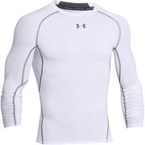 Under Armour HeatGear Men's Undershirt in White - Large