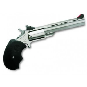 """North American Arms Mini-Master .22 Long Rifle/.22 Winchester Magnum 5+1 4"""" Pistol in Stainless - NAA-MMC"""