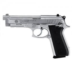 "Taurus 92 Standard 9mm 10+1 5"" Pistol in Stainless - 1920159"