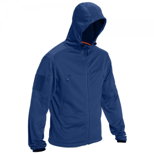 5.11 Tactical Reactor FZ Men's Full Zip Hoodie in Cobalt Blue - Medium
