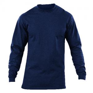 5.11 Tactical Station Shirt Men's Long Sleeve Shirt in Fire Navy - Medium