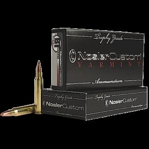 Nosler Bullets Custom Trophy Grade Varmint .204 Ruger Ballistic Tip Lead-Free, 32 Grain (20 Rounds) - 60089