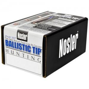 Nosler Spitzer Hunting Ballistic Tip 25 Cal 100 Grain 50/Box 25100