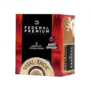 Federal Cartridge Vital-Shok .460 S&W Magnum Barnes Expander, 275 Grain (20 Rounds) - P460XB1