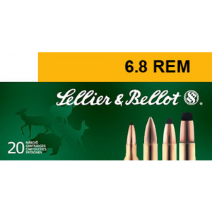 Magtech Ammunition Hunting Barnes Triple Shock X 6.8 SPC Barnes Triple Shock X-Bullet, 110 Grain (20 Rounds) - SB68A