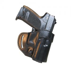 Blackhawk Compact Askins Left-Hand Belt Holster for Glock 17, 19, 22, 23, 26 in Black - 420502BK-L