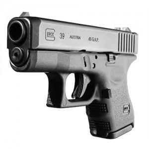 """Glock 39 .45 Glock 6+1 3.46"""" Pistol in Matte Black (Gen 3) - PI3950201"""