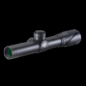 "BSA PS2X20 Pistol/Crossbow 2x 20mm 25ft@100yds 1"" Tube Black Duplex"