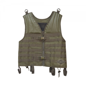 5ive Star Gear Plate Carrier Vest in Nylon Coyote - One Size Fits Most