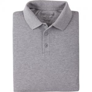 5.11 Tactical Professional Men's Short Sleeve Polo in Heather Grey - Medium