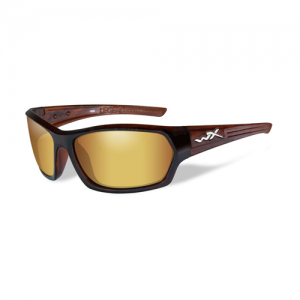 Wiley X - Legend Lens Color / Frame Color: Polarized Venice Gold Mirror / Gloss Hickory Brown