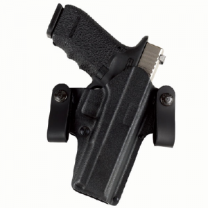 DOUBLE TIME OWB/IWB HOLSTER Gun FIt: SIG-SAUER - P220 Color: BLACK Hand: Right Handed - DT248