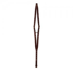 Galco Chestnut Brown Leather Rifle Sling w/Keyhole Attachment System RS11CN