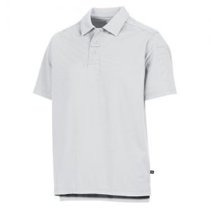Dickies Tactical Men's Short Sleeve Polo in White - X-Large