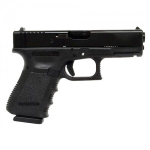 "Glock 19 9mm 15+1 4.02"" Pistol in Matte Black (Gen 3) - PI1950203"