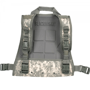 STRIKE  Commando Recon Plate C  S.T.R.I.K.E. Commando Recon Plate Carrier-Back only, Coyote Tan, Patent # D488,290, Can be combined with the 37CL01 S.T.R.I.K.E., Commando Recon Chest Harness for a full front/back rig, Bottom has a large grommetted flap wi