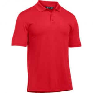 Under Armour Performance Men's Short Sleeve Polo in Red - 2X-Large