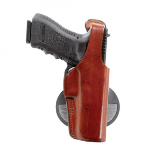 Model 59 Special Agent Gun FIt: 12 / S&W / 411, 909, 910, 915, 4006, 5904/5906 Hand: Right Hand Color: Black/Plain - 19158