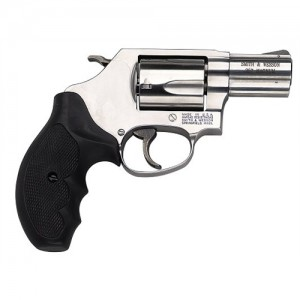 "Smith & Wesson 60 .357 Remington Magnum 5-Shot 2.13"" Revolver in Satin Stainless - 162420"