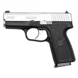 "Kahr Arms P40 .40 S&W 6+1 3.5"" Pistol in Black Polymer/Stainless Steel - KP4043"