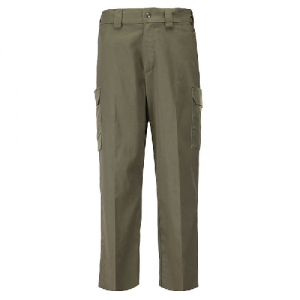 5.11 Tactical PDU Class B Men's Uniform Pants in Sheriff Green - 44 x Unhemmed