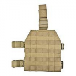 Universal Drop Leg Holster Ambidextrous, Coyote Tan