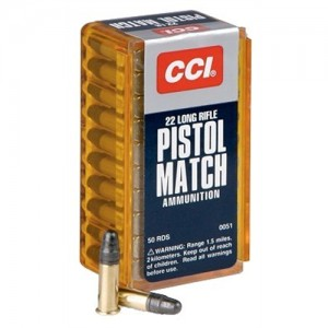 CCI Speer Competition/Target and Plinking .22 Long Rifle Round Nose, 40 Grain (50 Rounds) - 51