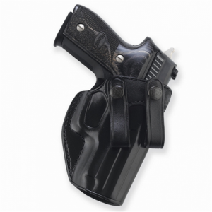 "Galco International Summer Comfort Right-Hand IWB Holster for Glock 20, 21, 37 in Black (4.6"") - SUM228B"