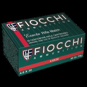 Fiocchi Ammunition Training 4.6X30 H&K Non-Toxic, 30 Grain (50 Rounds) - 46SFNT