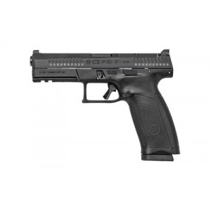 "CZ P-10 Full Size 9mm 19+1 4.5"" Pistol in Black Nitride (Optic Ready) - 95150"