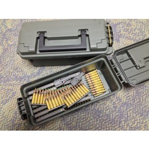 Federal Cartridge .223 Remington/5.56 NATO Full Metal Jacket Green Tip, 62 Grain (300 Rounds) - M855-300-CAN