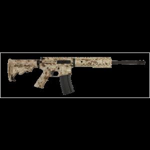 """Diamondback DB15 .223 Remington/5.56 NATO 10-Round 16"""" Semi-Automatic Rifle in Digital Camo Tan - DB15DCT-CA"""