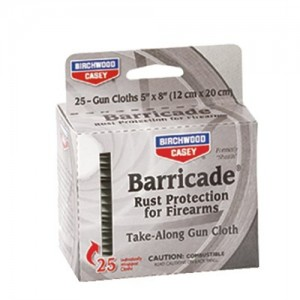 Birchwood Casey Gun Cleaning Wipes/25 Pack 33025