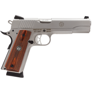 """Ruger SR1911 .45 ACP 8+1 5"""" 1911 in Stainless Steel - 6700"""