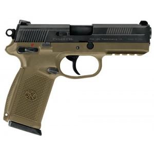 "FN Herstal FNS-9 9mm 17+1 4"" Pistol in Flat Dark Earth (Manual Safety) - 66937"