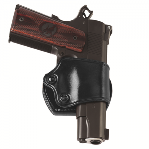 YAQUI SLIDE BELT HOLSTER Gun FIt: GLOCK - 20 Color: BROWN Hand: Right Handed - YAQ228B