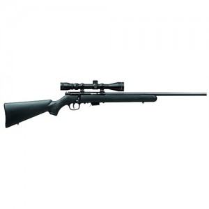 """Savage Arms 93R17 FXP .17 HMR 5-Round 20.75"""" Bolt Action Rifle in Blued - 96209"""